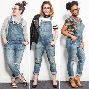 Madewell Skinny Overalls in Adrian Wash